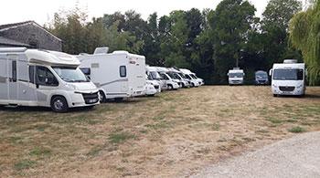Rallye of Camping-car in the Domain Tesseron