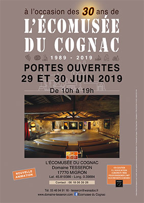 Week-end Portes Ouvertes Ecomusée du Cognac