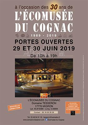 Open doors at the Ecomuseum of Cognac