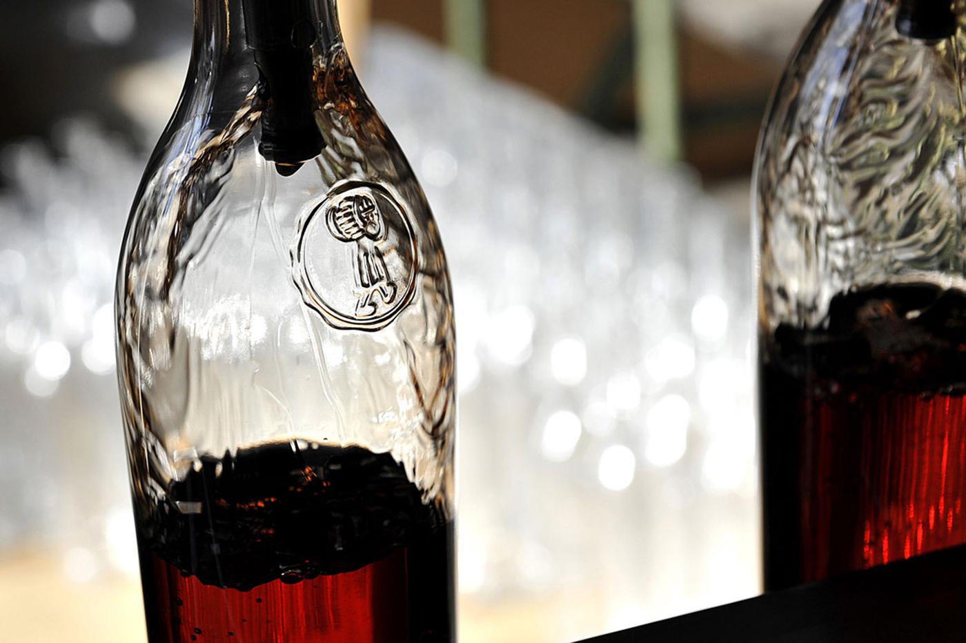 Mise en bouteille à l'Ecomusée du Cognac