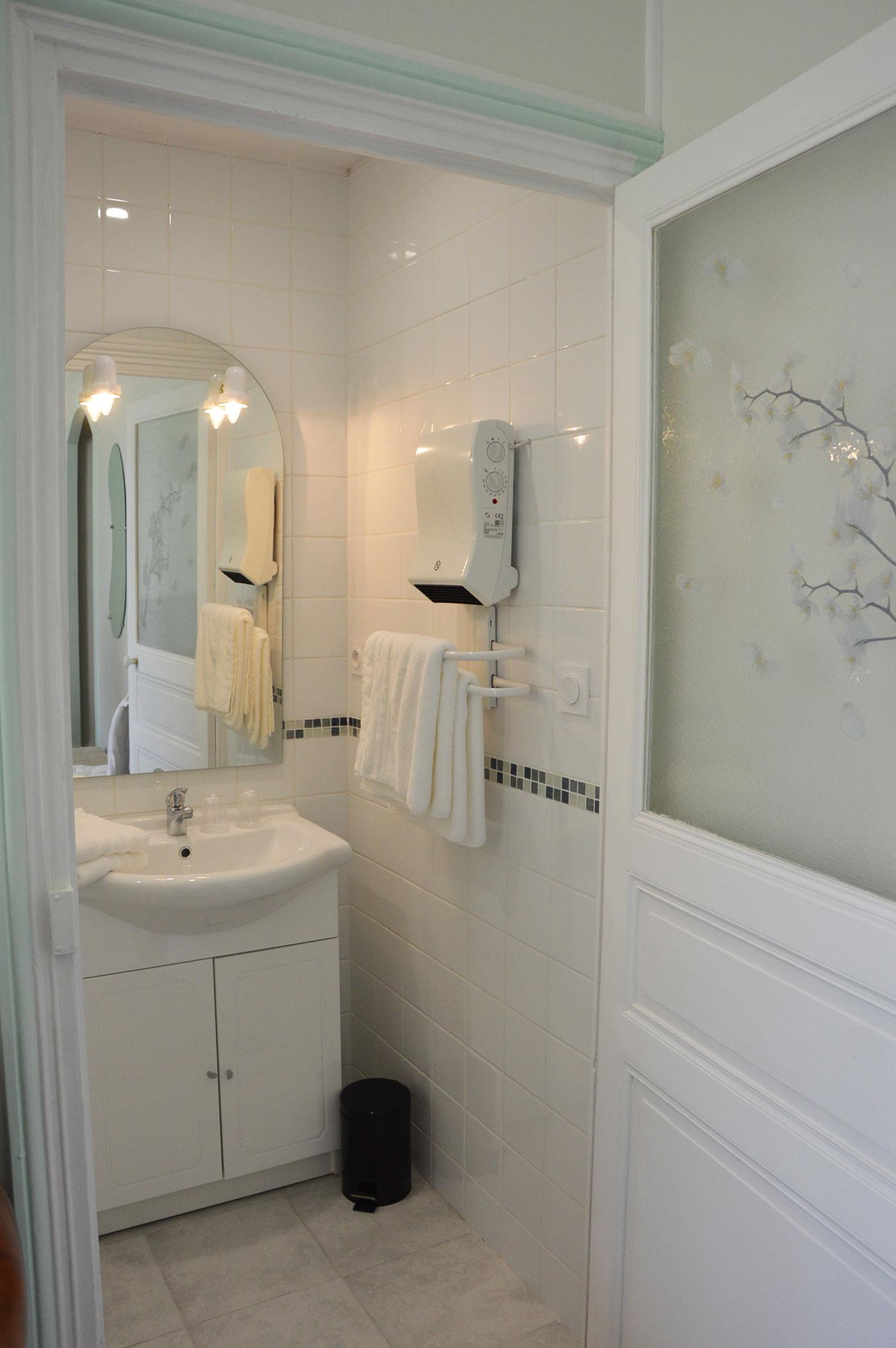 Salle de douche Chambre Fins Bois