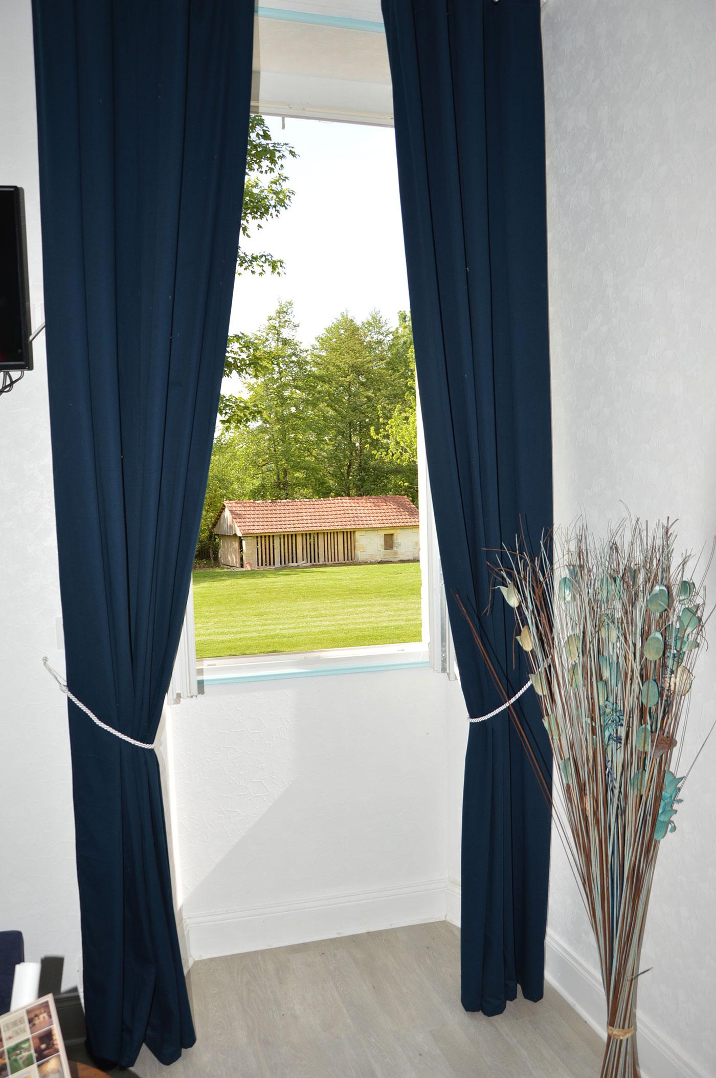 Vue depuis la fenêtre Chambre Bons Bois