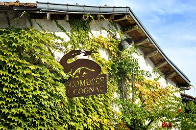 Façade de l'Ecomusée du Cognac