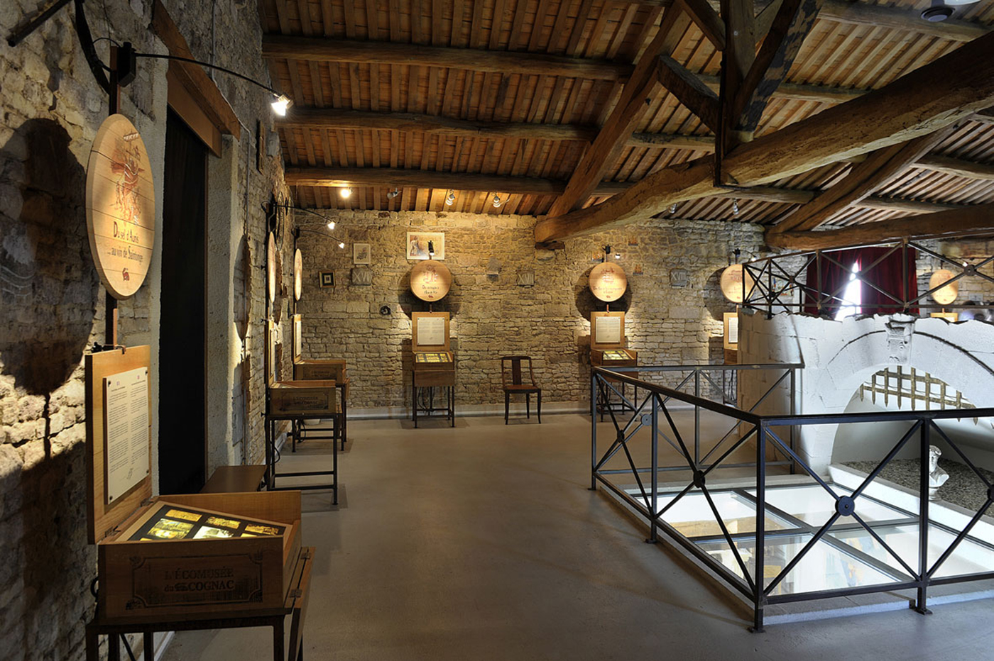 Exhibition at the Ecomuseum of Cognac