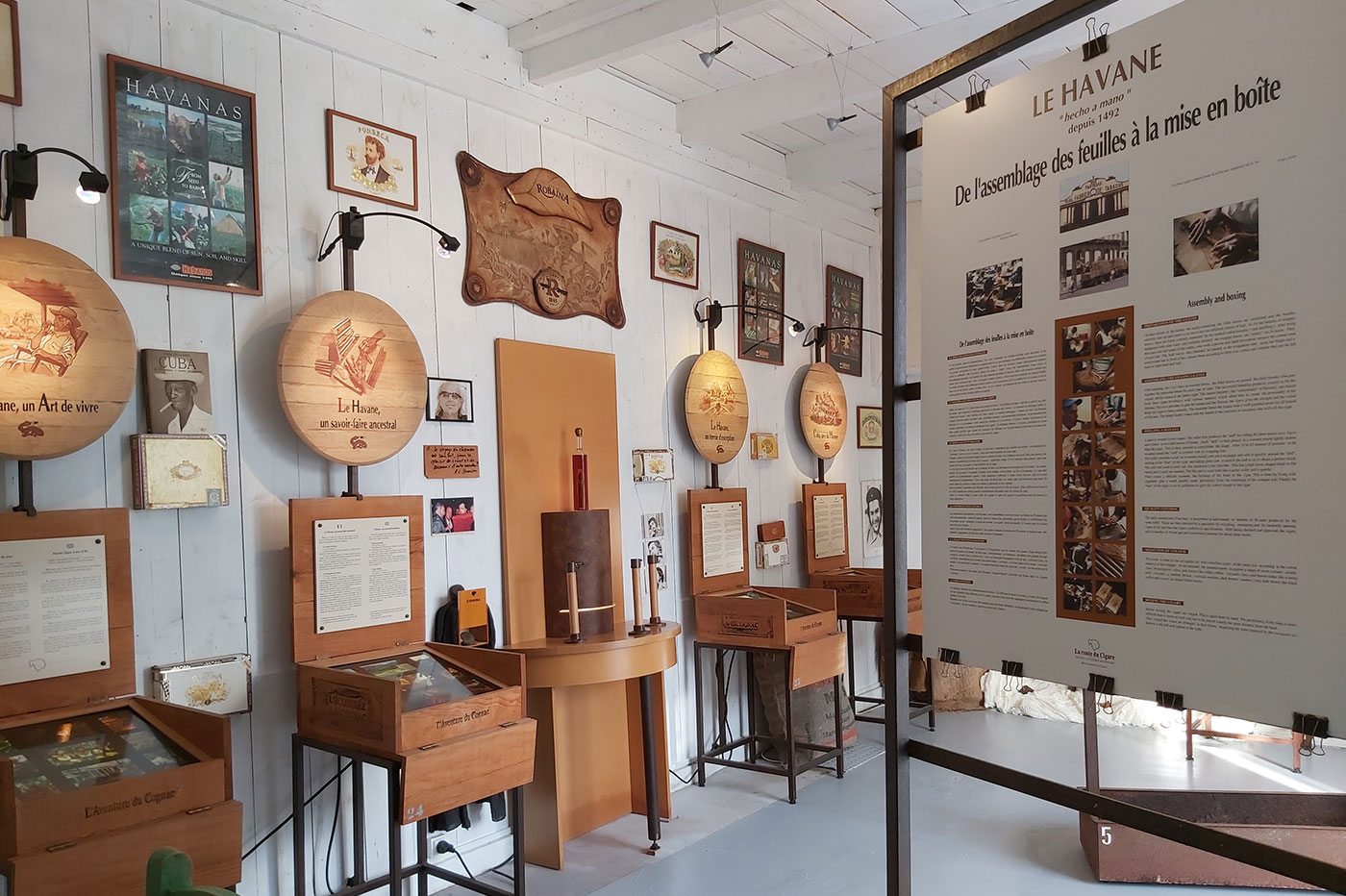 Cuba Exhibition at the Ecomuseum of Cognac