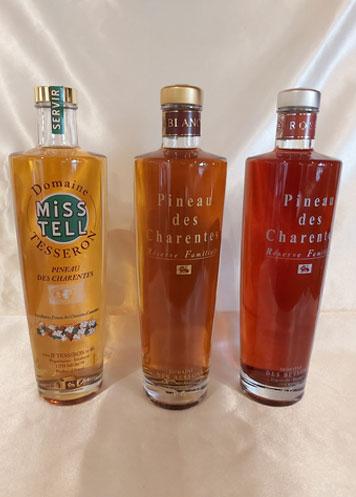 3 Pineaux des Charentes - Domaine Tesseron